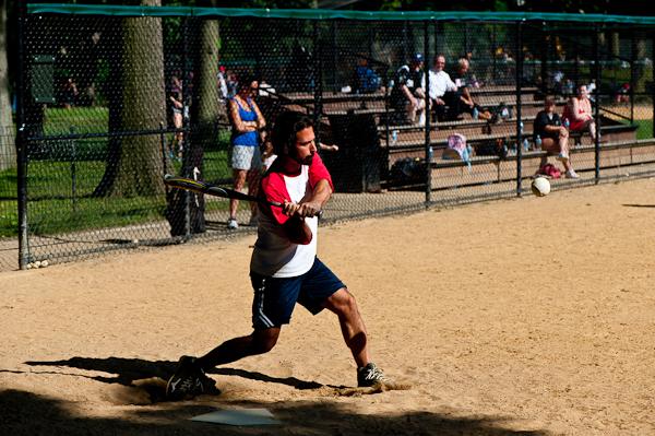 Central Park - ballgame