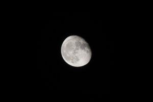 October 22th, 2016 – Moon series